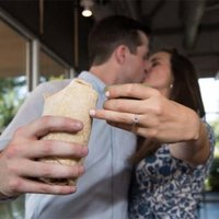 This Romantic Marriage Proposal Came With a Diamond Engagement Ring and Side of Guac